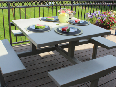 ADA Compliant Picnic Table from Premier Picnic Tables